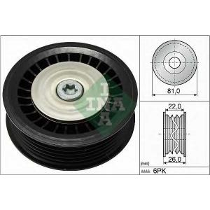 GA355.24  NTN-SNR - Обвідний ролик 532067810 luk -