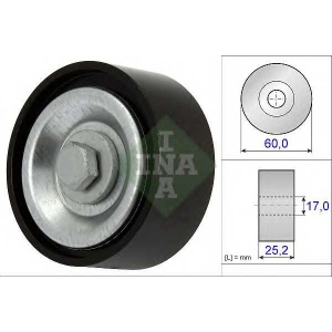 INA 532071510 Направляющий ролик поликлинового ремня