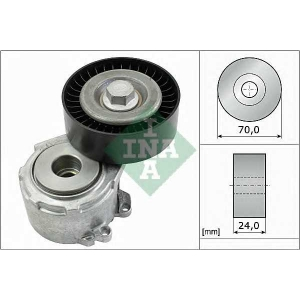 INA 534 0110 20 Роликовий модуль натягувача ременя