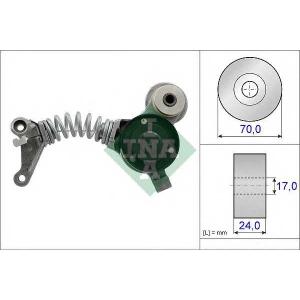 Натяжитель ремня, клиновой зубча 534041910 ina - AUDI A8 (4E_) седан 3.0