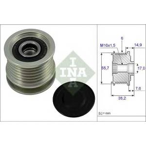 INA 535 0013 10 Механизм свободного хода генератора MB (пр-во Ina)
