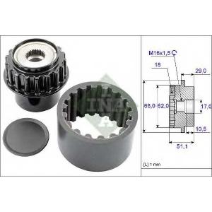 INA 535 0206 10 Комплект эластичной муфты сцепления
