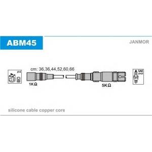 JANMOR ABM45 Провода в/в Audi 80/100/A4/A6/A8 2.4/2.4Q/2.6/2.6Q/2.8