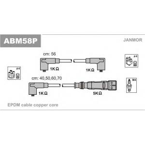 JANMOR ABM58P Комплект проводiв запалювання