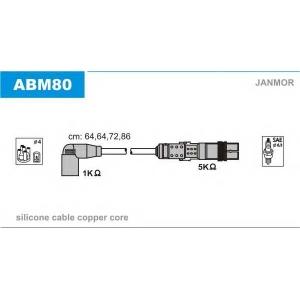 JANMOR ABM80 Ккомплект проводов зажигания