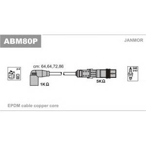 JANMOR ABM80P Дроти вискової напруги Seat Ibiza, Arosa, Inca 1.0/1.4 05.97-06.04 Vw Polo, Lupo 1.0/1.4 12.95-07.05