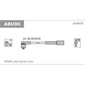 JANMOR ABU90 Комплект высоковольтных проводов