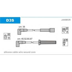 JANMOR D3S Ккомплект проводов зажигания