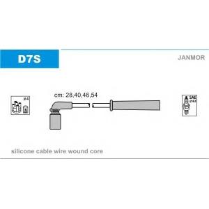 JANMOR D7S Ккомплект проводов зажигания