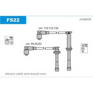 JANMOR FS22 Ккомплект проводов зажигания