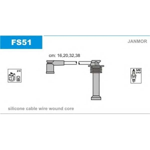 JANMOR FS51 Провода В/В Ford Focus 1.4/1.6 04-