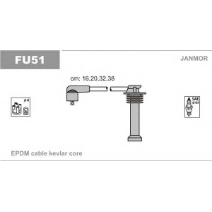 JANMOR FU51 Провода зажигания