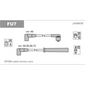 Комплект проводов зажигания fu7 janmor - FORD SIERRA Наклонная задняя часть (GBC, GBG) Наклонная задняя часть 2.0 i KAT
