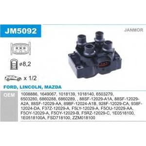 JANMOR JM5092 Катушка зажигания (пр-во Janmor)