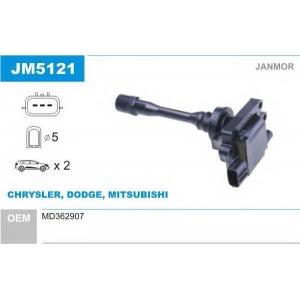 Катушка зажигания jm5121 janmor - MITSUBISHI CARISMA (DA_) Наклонная задняя часть 1.8 16V (DA2A)