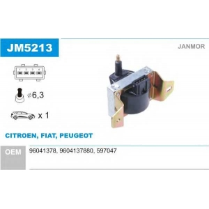JANMOR JM5213 Катушка зажигания