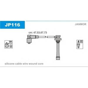JANMOR JP116 Ккомплект проводов зажигания