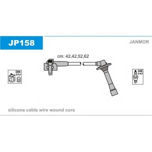 jp158 janmor Комплект проводов зажигания MAZDA 626 седан 1.9