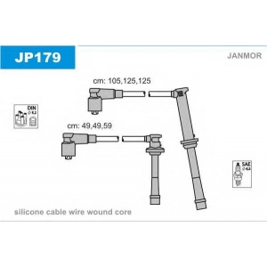 JANMOR JP179 Ккомплект проводов зажигания
