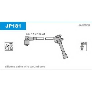 JANMOR JP181 Дроти високої напруги Kia Rio 1.5 16V 00-