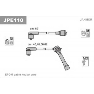 JANMOR jpe110 Провода