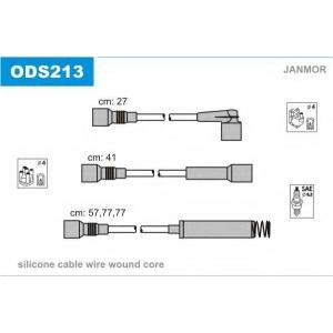 JANMOR ODS213 Провода в/в Opel Astra/Vectra CD-GT-GSi 1.8i/2.0 (Mot C18NZ