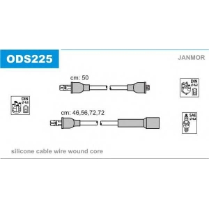 JANMOR ODS225 Провода в/в Opel Kadett 1.6 84-87
