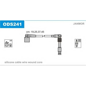 JANMOR ODS241 Провод зажигания (пр-во Janmor)