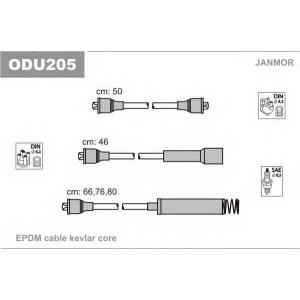 JANMOR ODU205 Комплект проводов зажигания Opel Ascona, Kadett C18NE, C18NT