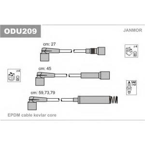 Комплект проводов зажигания odu209 janmor - OPEL VECTRA A (86_, 87_) седан 1.6