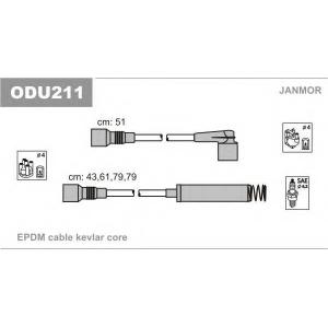 Комплект проводов зажигания odu211 janmor - OPEL KADETT E Наклонная задняя часть (33_, 34_, 43_, 44_) Наклонная задняя часть 1.8 S