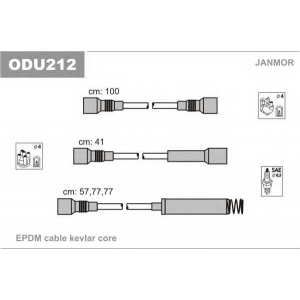 JANMOR ODU212 Провод зажигания (пр-во Janmor)