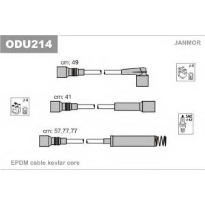 JANMOR ODU214 К-кт дротів в/н Opel Astra F 1.8-2.0 91-98