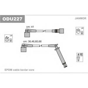 Комплект проводов зажигания odu227 janmor - OPEL CORSA A TR (91_, 92_, 96_, 97_) седан 1.2 N
