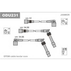 Комплект проводов зажигания odu231 janmor - OPEL VECTRA A Наклонная задняя часть (88_, 89_) Наклонная задняя часть 1.6 i KAT