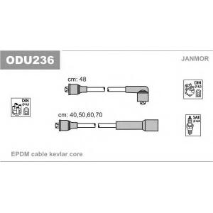 Комплект проводов зажигания odu236 janmor - OPEL KADETT D (31_-34_, 41_-44_) Наклонная задняя часть 1.3 N