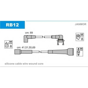 JANMOR RB12 Провода зажигания