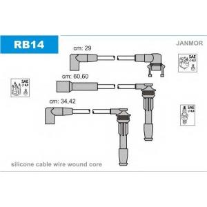 JANMOR RB14 Ккомплект проводов зажигания