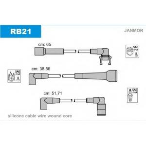 JANMOR RB21 Ккомплект проводов зажигания