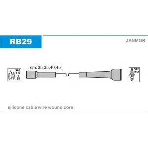 JANMOR RB29 Ккомплект проводов зажигания
