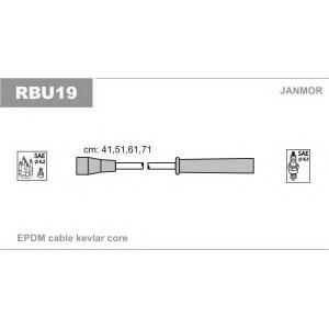 Комплект проводов зажигания rbu19 janmor - RENAULT MEGANE I (BA0/1_) Наклонная задняя часть 1.6 e (BA0F, BA0S)
