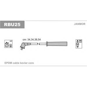 Комплект проводов зажигания rbu25 janmor - RENAULT MEGANE I (BA0/1_) Наклонная задняя часть 1.6 e (BA0F, BA0S)