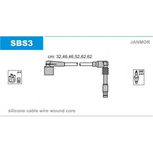 JANMOR SBS3 Ignition cable set