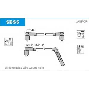 JANMOR SBS5 Ккомплект проводов зажигания