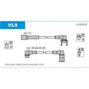 JANMOR VL9 Ккомплект проводов зажигания