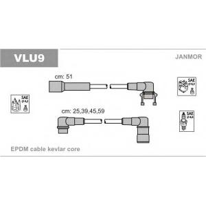 JANMOR VLU9 Комплект проводов зажигания