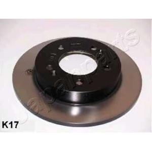 JAPANPARTS DPK17 Тормозной диск