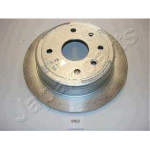 JAPANPARTS DPW02 Тормозной диск