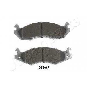 JAPANPARTS PA059AF Комплект тормозных колодок, дисковый тормоз
