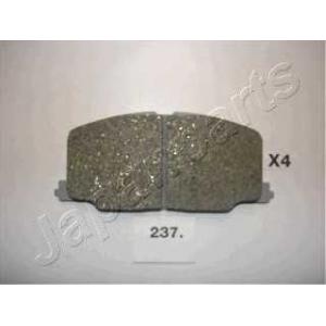 JAPANPARTS PA237AF Комплект тормозных колодок, дисковый тормоз